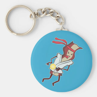 Super Action Bacon Keychain
