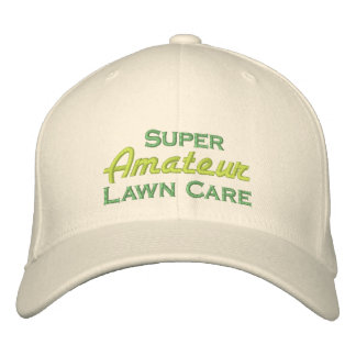 Super Amateur Lawn Care Embroidered Hat