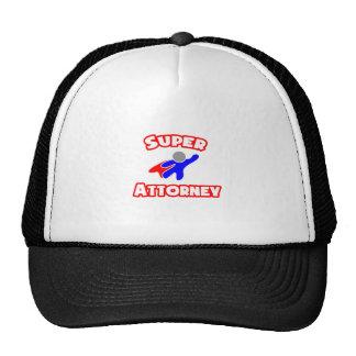 Super Attorney Hats