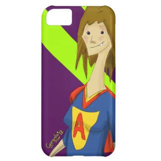 Super Average Hero iPhone 5 Case