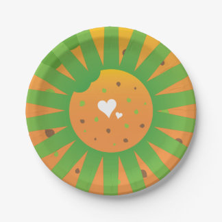 Super awesome easter party rays love food paper plate