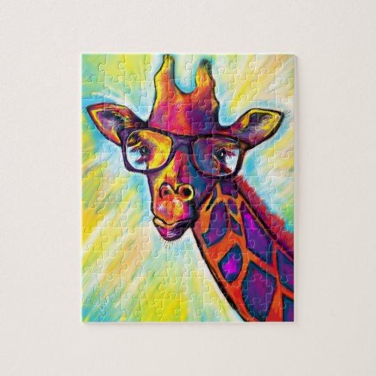 Super Awesome Giraffe Puzzle