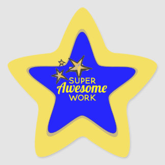 Super Awesome Work Stickers