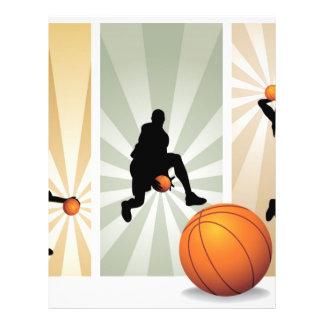 super-basketball 21.5 cm x 28 cm flyer