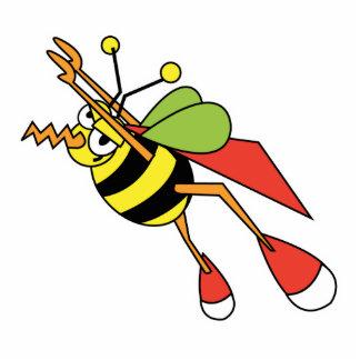 super bee standing photo sculpture