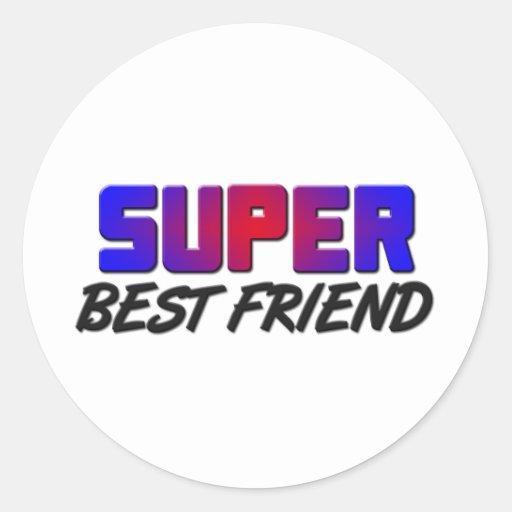 Super Best Friend Stickers