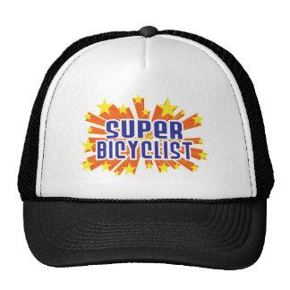 Super Bicyclist Mesh Hats