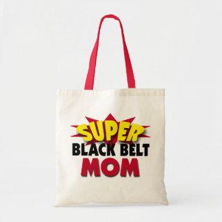 Super Black Belt Mom Tote Bag