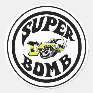 Super Bomb Sticker
