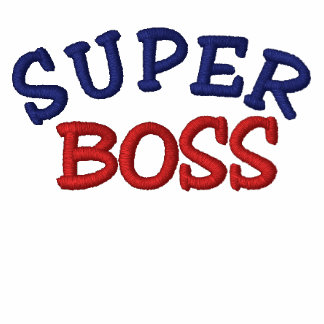Super Boss Embroidered Polo Shirt