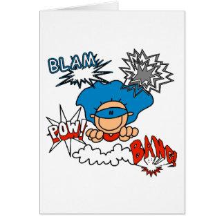 Super Boy Blam Bang Pow Card