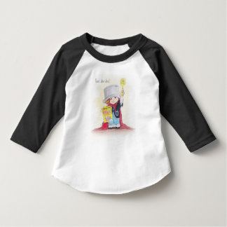 Super Boy Toddler Sleeve Raglan T-shirt