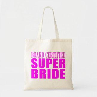 Super Brides : Board Certified Super Bride Tote Bags