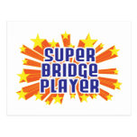Super Bridge Player Post Card