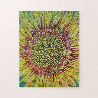Super Bright Sunflower Designer Puzzle