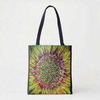 Super Bright Sunflower Designer Tote Bag