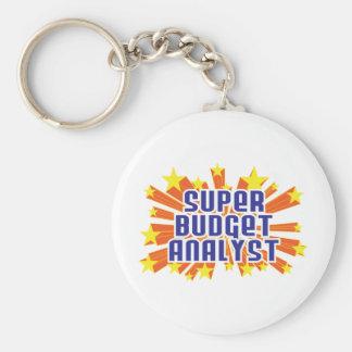 Super Budget Analyst Keychain