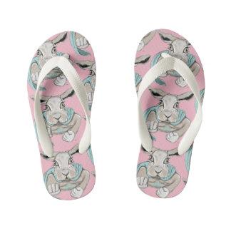 Super Bunny Kid's Thongs