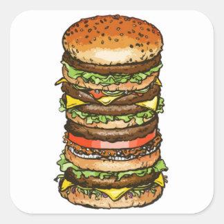Super Burger Sticker