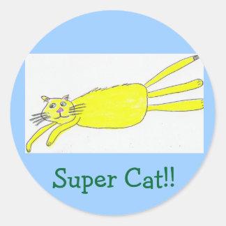 Super Cat!! Stickers