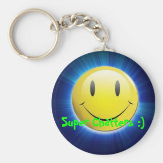 Super Chatters :) keychain