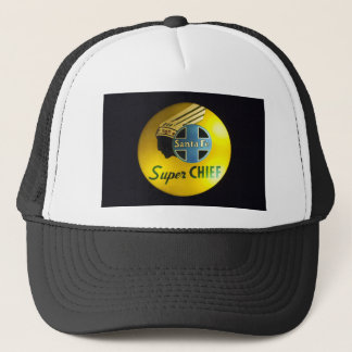 Super Chief Railroad Sign Hat