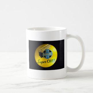 Super Chief Railroad Sign Mug