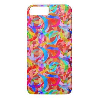 Super Colorful Crescent Design on iPhone 7 Case