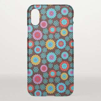 Super Colorful Flower Pattern iPhone X Case