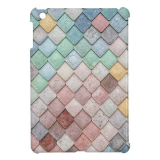 Super Colorful Tile Pattern iPad Mini Cases