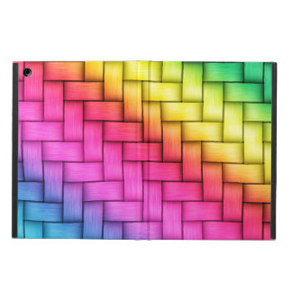 Super Colorful Woven Pattern iPad Air Cover