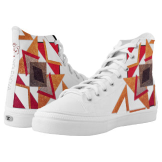 Super Cool Azteca Blanca High Tops