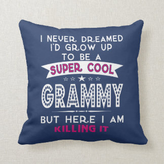 Super Cool GRAMMY is Killing It! Cushion