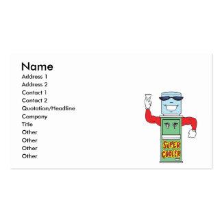 super cool water cooler dispenser business cards