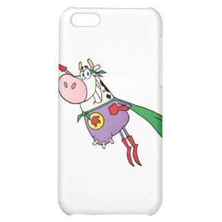 Super Cow Cartoon Character iPhone 5C Cover