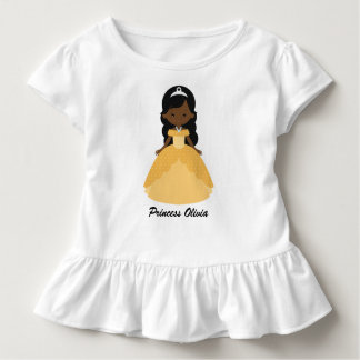 Super Cute Afro American Princess Toddler T-Shirt