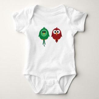 Super cute birds of tropical paradise kids T shirt