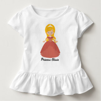 Super Cute Blond Princess Toddler T-Shirt