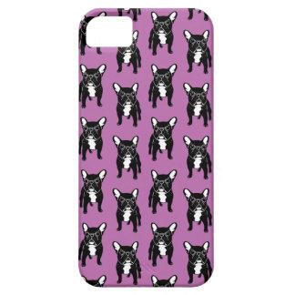 Super cute brindle French Bulldog Puppy iPhone 5 Case