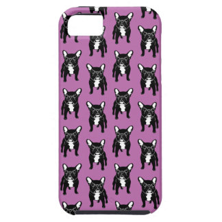 Super cute brindle French Bulldog Puppy iPhone 5 Covers