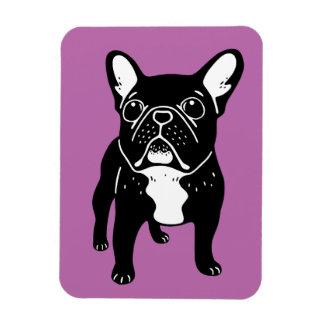 Super cute brindle French Bulldog Puppy Magnet