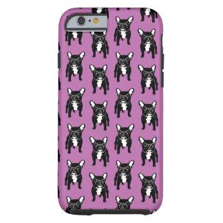 Super cute brindle French Bulldog Puppy Tough iPhone 6 Case