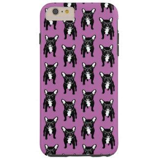 Super cute brindle French Bulldog Puppy Tough iPhone 6 Plus Case