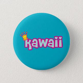 Super Cute Kawaii word 6 Cm Round Badge