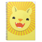Super cute Lion face smiling! NP Notebook
