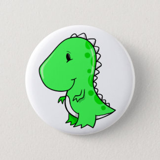 Super Cute Little Dinosaur Button
