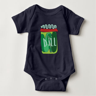 Super Cute Pickle Jar Baby One Piece Garment Baby Bodysuit