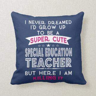 Super Cute Special Education Teacher Cushion