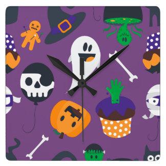 Super cute spooky Halloween wall clock