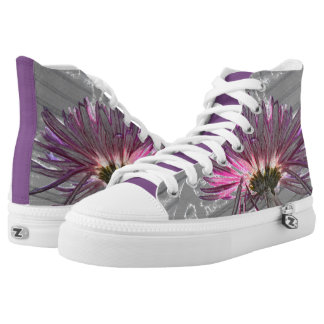 Super Cute Swag Purple Passion High Top Shoes